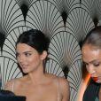 """Kendall Jenner, Joan Smalls à la soirée du film """"Le monde est à toi"""" sur la plage Magnum lors du 71ème Festival International du Film de Cannes, le 12 mai 2018."""