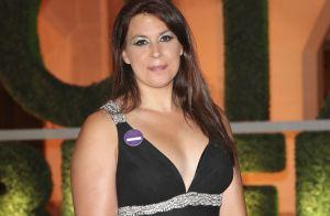 Marion Bartoli assume ses formes : Lingerie et cuir pour une soirée foot