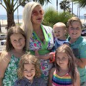 Tori Spelling : Enfin le bonheur en famille, deux mois après son pétage de plomb