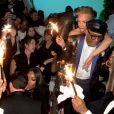 Spike Lee, sa femme Tonya Lewis Lee, Naomi Campbell - Soirée du film de Spike Lee « BlacKkKlansman » en compétition officielle au 71ème festival international du film de Cannes le 14 mai 2018. Un événement organisé FIve Eyes production ( david Koskievic & David Setrouk) à la Plage La Môme. © Rachid Bellak / Bestimage