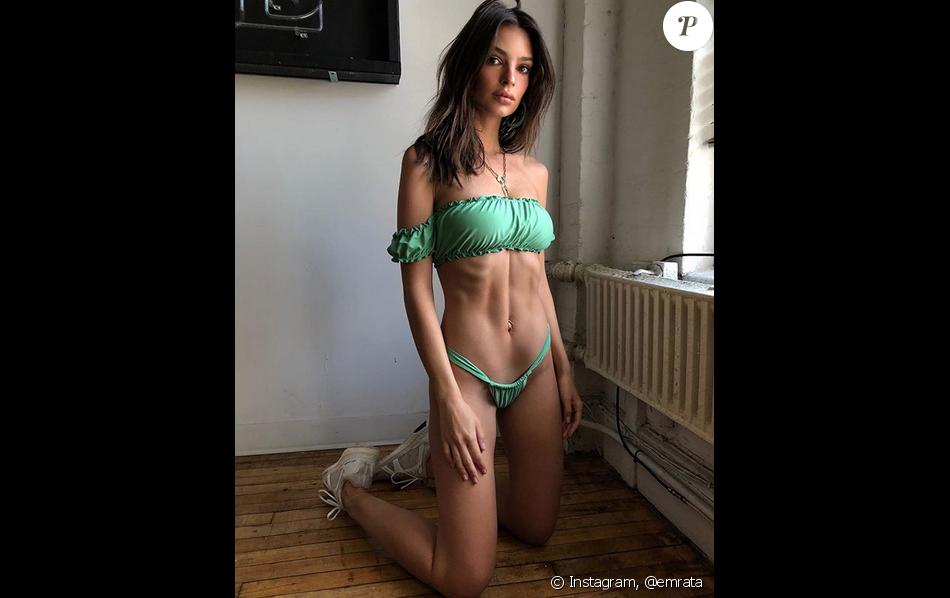 Emily Ratajkowski à New York. Avril 2018.