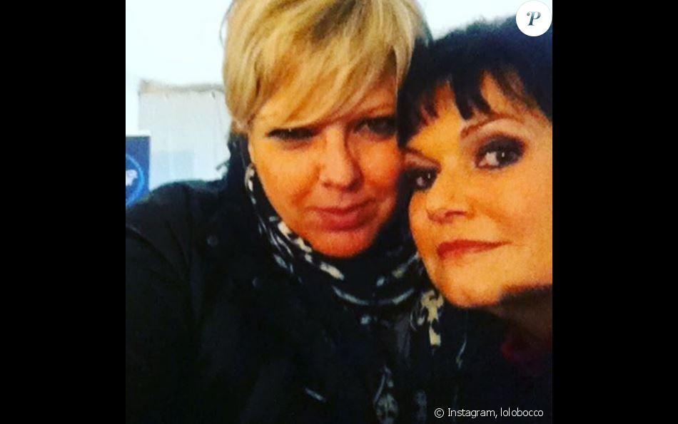 Laurence Boccolini a partagé cette photo d'elle et de Maurane sur Instagram. Mai 2018