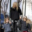 Gwyneth Paltrow et ses enfants Moses et Apple