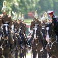 Répétitions et préparatifs en vue du mariage du prince Harry et de Meghan Markle. Windsor, le 17 mai 2018.