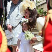 Kate Middleton : Très chic avec George et Charlotte pour leur 1er mariage royal
