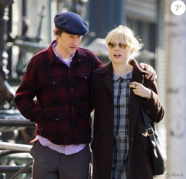Spike Jonze et Michelle Williams, à New York.