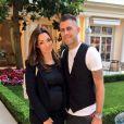 Emilie Nef Naf annonce être enceinte de son deuxième enfant sur son compte Twitter. Juin 2014.
