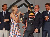 Charlene de Monaco se lâche avec Daniel Ricciardo, vainqueur du Grand Prix