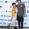 Brittany Furlan et son fiancé Tommy Lee à la journée Off The Menu x Postmates: Secret Burger Showdown au Wallis Annenberg Center à Beverly Hills, le 26 mai 2018