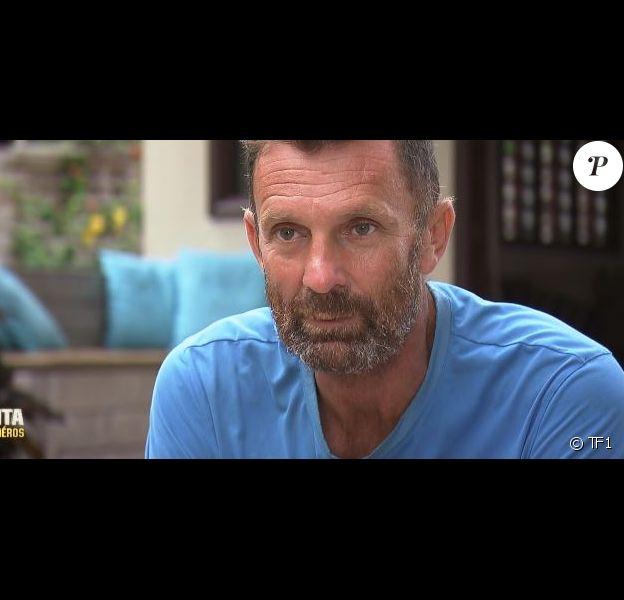 """Pascal dans """"Koh-Lanta : Le combat des héros"""" (M6) vendredi 18 mai 2018."""