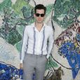 Mark Ronson - Photocall du défilé de la collection croisière Louis Vuitton 2019 dans les jardins de la fondation d'art Maeght à Saint-Paul-De-Vence, France, le 28 mai 2018.