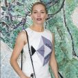 Sienna Miller - Photocall du défilé de la collection croisière Louis Vuitton 2019 dans les jardins de la fondation d'art Maeght à Saint-Paul-De-Vence, France, le 28 mai 2018.