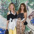 Elizabeth von Guttman et Alexia Niedzielski - Photocall du défilé de la collection croisière Louis Vuitton 2019 dans les jardins de la fondation d'art Maeght à Saint-Paul-De-Vence, France, le 28 mai 2018.