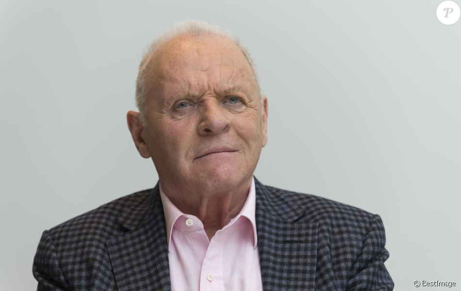 "Anthony Hopkins en conférence de presse pour le film ""The Dresser"" à Beverly Hills. Le 19 mai 2016."