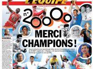 Platini, Douillet, Prost, Killy, Lizarazu... : une dream team de 18 stars pour l'anniversaire historique de L'Equipe !
