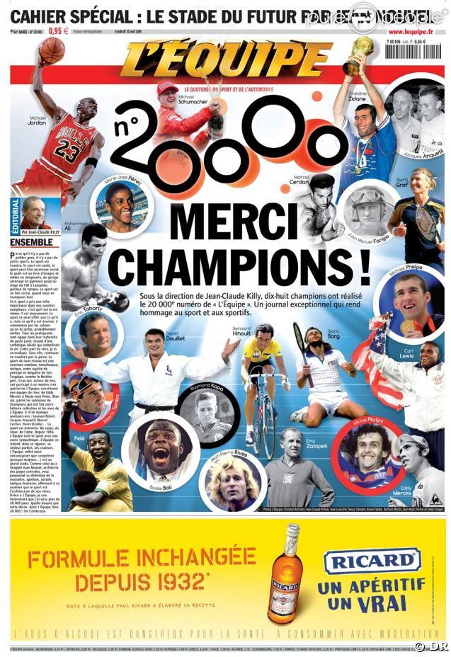 L'Equipe donne les clés à ses champions pour son numéro 20 000