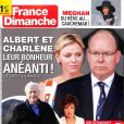 "Magazine ""France Dimanche"", en kiosques vendredi 1er juin 2018."