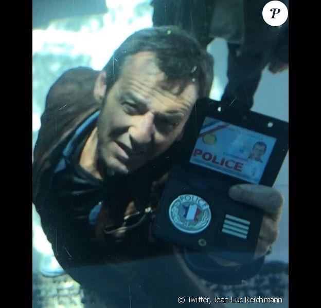 """Jean-Luc Reichmann sur le tournage de la saison 6 de """"Léo Mattei"""" - Twitter, 2 juin 2018"""