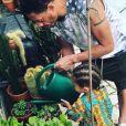 JoeyStarr et son fils Marcello sur Instagram. Juin 2018.