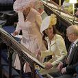 La duchesse Catherine de Cambridge lors du mariage du prince Harry et de la duchesse Meghan de Sussex (Meghan Markle) à Windsor le 19 mai 2018.