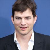 Ashton Kutcher sauve des enfants... mais pas ses cheveux
