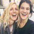 Suzanne Lindon, fille de Sandrine Kiberlain (photo postée le 23 novembre 2015).