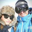 Géraldine Lapalus et son mari Julien, Instagram, 23 janvier 2017