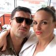 Géraldine Lapalus à Marseille avec son mari Julien et sa fille June, 6 mai 2018