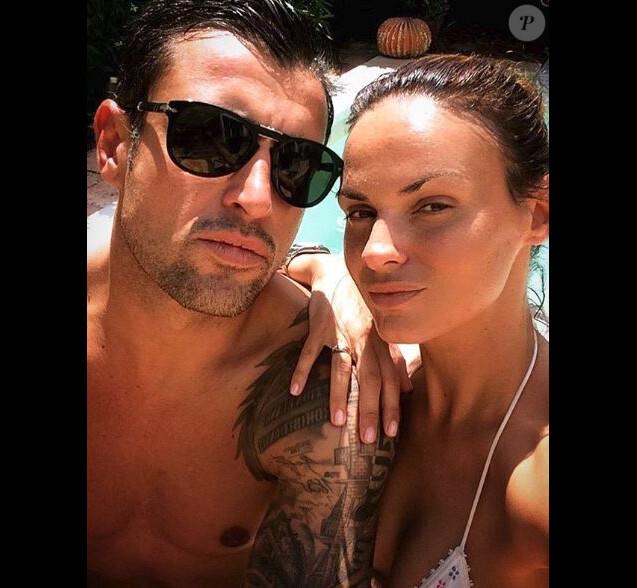Géraldine Lapalus et son mari Julien - Instagram, 10 juin 2018