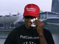 Dennis Rodman en pleurs en assistant au sommet Donald Trump-Kim Jung-Un