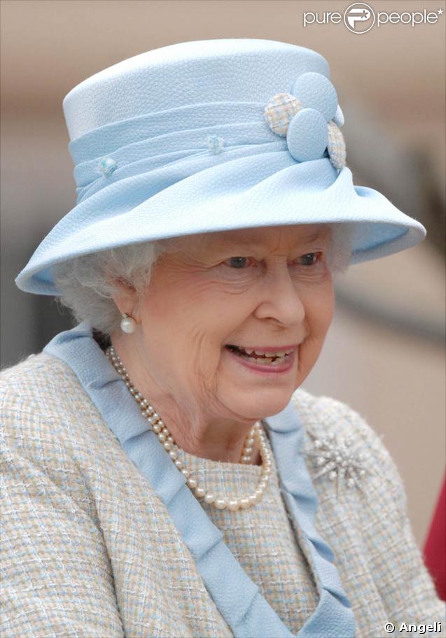 La Reine Elizabeth à la fête de Pâques, à Windsor