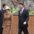 La Princesse Anne et son mari Tim Lawrence à la fête pascale, à Windsor
