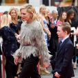 """Cate Blanchett (en Louis Vuitton) - Première du film """"Ocean's 8"""" au Cineworld Leicester Square à Londres, Royaume Uni, le 13 juin 2018."""