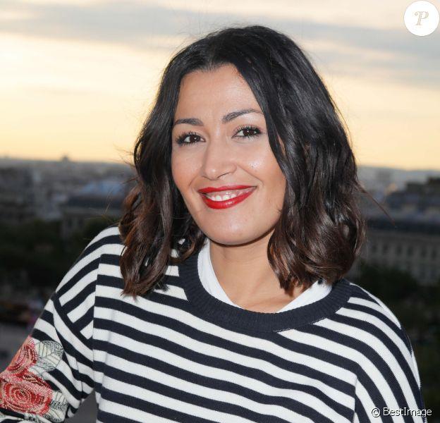 Exclusif - Karima Charni - Rencontres à la terrasse Publicis lors du 7ème Champs Elysées Film Festival (CEFF) à Paris le 13 juin 2018. © Veeren-CVS/Bestimage