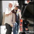 """Johnny Depp sur le tournage de """"The Rum Diary"""", de Bruce Robinson, à Porto Rico, en avril 2009 !"""