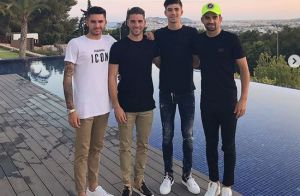 Zinédine Zidane : Ses quatre fils réunis pour des vacances à Ibiza