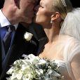 Zara (Phillips) et Mike Tindall lors de leur mariage le 30 juillet 2011 à Edimbourg. Le 5 janvier 2018, un porte-parole a annoncé la grossesse de la fille de la princesse Anne, enceinte de son second enfant après avoir été victime en 2016 d'une fausse couche.