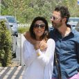 Eva Longoria et son petit ami Jose Antonio Baston font du shopping à Malibu, le 23 mai 2014