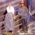 """Laury Thilleman dans """"Fête de la musique : Tous à Nice !"""" sur France 2. Le 21 juin 2018."""