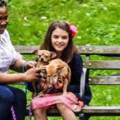 Katie Holmes : Sa fille Suri, blessée, s'amuse seule à New York