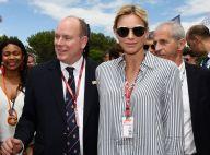 Charlene et Albert de Monaco témoins du succès de Lewis Hamilton en France