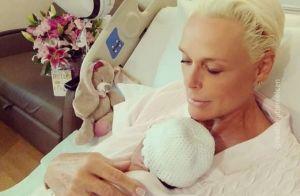 Brigitte Nielsen maman à 54 ans : Tendre photo avec bébé