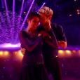 """Karine Ferri et Yann-Alrick Morteuil - demi-finale de """"Danse avec les stars 7"""", samedi 10 décembre 2016, sur TF1"""