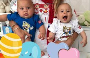 Anna Kournikova : Rare photo de ses deux enfants pour la Coupe du monde