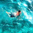 Olympe a partagé des photos de son séjour en Grèce sur les réseaux sociaux. Juillet 2018.