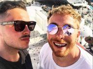 Olympe, aminci, partage des photos avec son mari pour leurs 2 ans en Grèce
