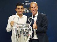Zinédine Zidane : Son fils Enzo, bronzé et torse nu, présente sa jolie cousine