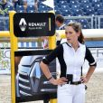 Jessica Springsteen - Reconnaissance du Global Champions League of Paris - First GCL Competition - Longines Paris Eiffel Jumping au Champ de Mars à Paris, le 5 juillet 2018. © Veeren/Perusseau/Bestimage