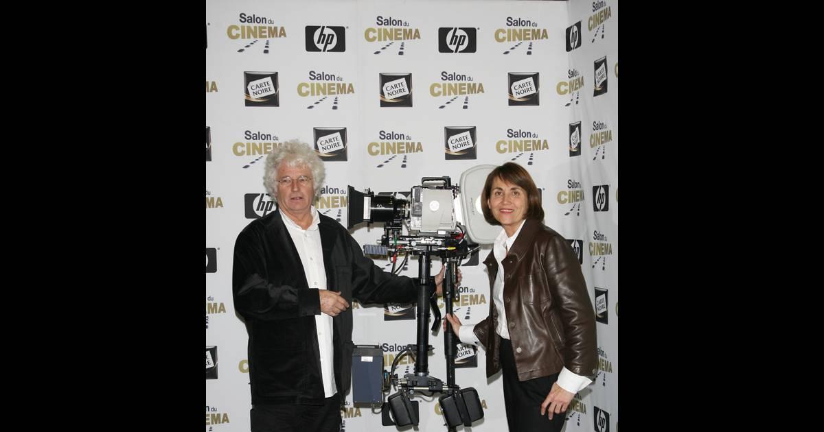 Jj annaud et christine albanel au salon du cin ma for Cinema a salon