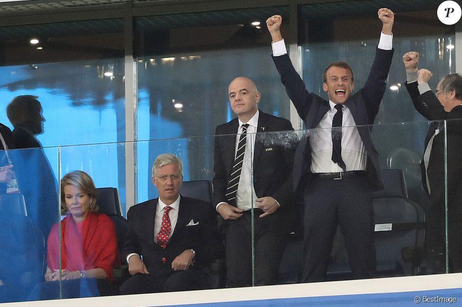 Macron s'entretiendra avec Poutine en marge de la finale du Mondial